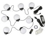 8 Globe Color Changing LED 08089 Low Voltage Umbrella Lights
