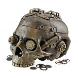 Steampunk Skull Containment Vessel