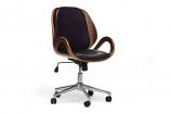 Watson Walnut and Black Modern Office Chair