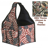Blue Flame BQCA.BQ Barbecue Carryall With Pockets - Barbecue Theme