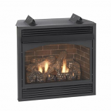 """Empire Vail 32"""" IP Premium Vent-Free Fireplace with Blower - LP"""