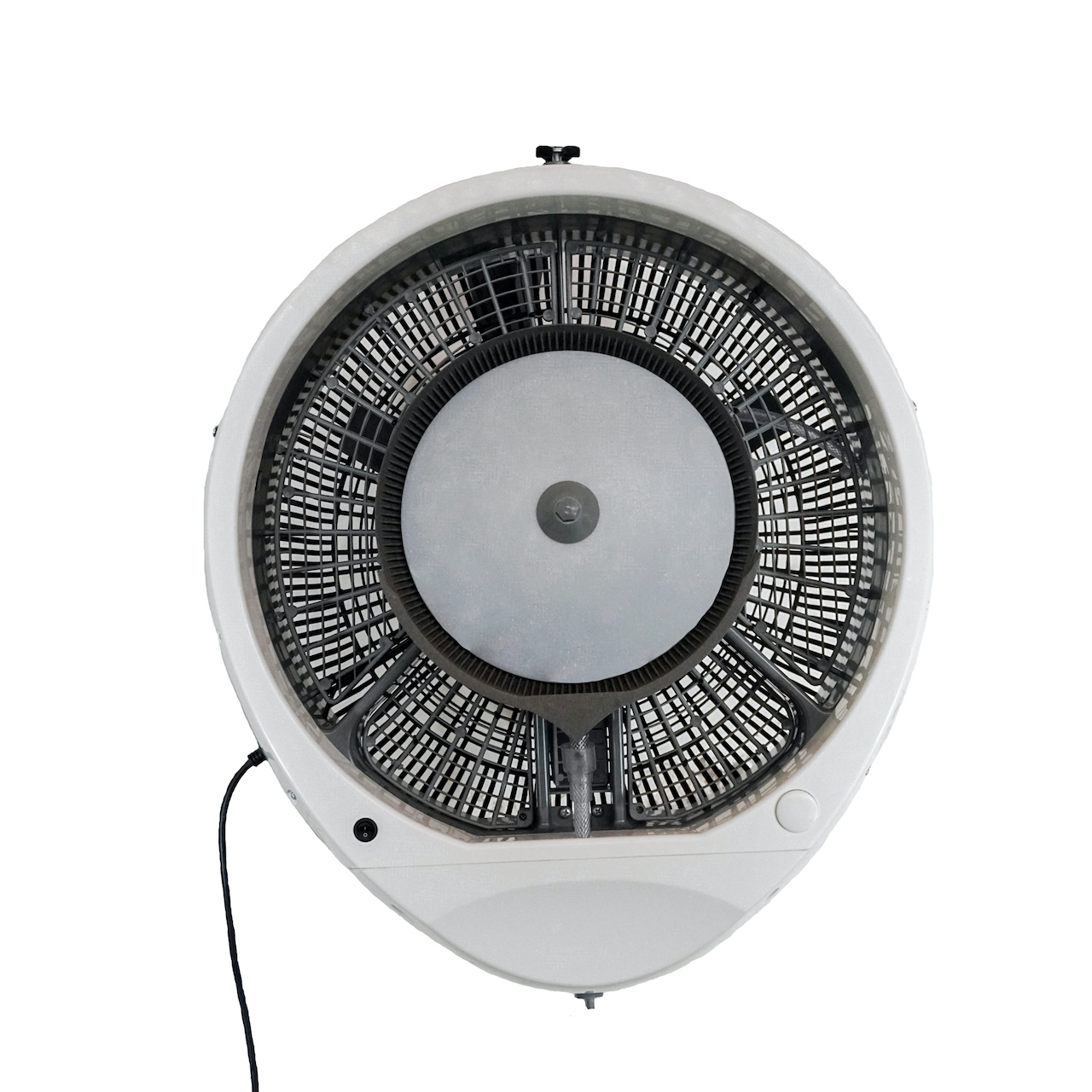 EcoJet Cyclone Wall Mount Misting Fan in White