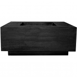 Prism Hardscapes Tavola 7 Fire Table in Ebony - NG