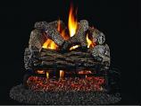 """Real Fyre 16"""" Golden Oak Vented Gas Log Set with G4 Burner - NG"""