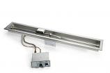 "Flex Line PB/FS 48"" Linear Trough Pan Fire Pit Insert - NG"