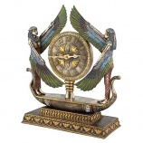Wings Of Isis Clock WU71647 By Design Toscano