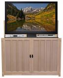 "Grand Elevate Anyroom Lift Cabinet for 60"" Flat Screen TV - UF Oak"