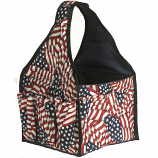 Blue Flame BQCA.FL Barbecue Carryall With Pockets - Flag Theme
