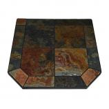 "Asian Slate Stove Board, Single Cut Corner, 48"" x 48"""