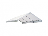 "18x20 Canopy Replacement Cover for 2"" Frame - White"