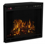 Regal Flame LW8028FLT 28in Flat Ventless Heater Electric Fireplace Insert