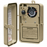 Intermatic PF1103T Thermostat Timer Mechanism Metal Enclosure 120/240V
