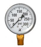 Zen-Tek DPG300 Dry Air Pressure Gauge, 300 PSI
