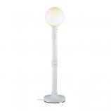 "Moonlite 64"" Floor Lamp with 3"" White Tube Body and White Globe"
