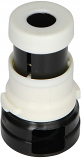 Bayonet Style Cleaning Head Only for Caretaker Cleaning Heads-Cream