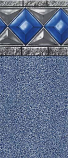 GLI Pool 050018RDCAPUB54 Glilin 18ft Round 54in Unibead Capri ABG Liner