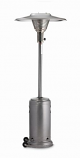 Silver Veined Patio Heater with Reflector - Propane