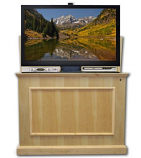 "Elevate Anyroom Lift Cabinet for 50"" Flat Screen TV - Unfinished Birch"