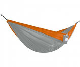 Vivere PAR26 Parachute Hammock - Double- Grey and Orange