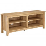Ryan Rove RR1006 Mission 58in Wood TV Console in Natural