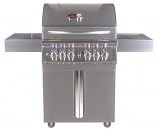 Bonfire 800i Propane Grill with Double Door Cart