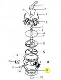 Waterco 00B7003 O-Ring BIII Valve No.442