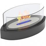 Veranda Tabletop Portable Bio Ethanol Fireplace in Black