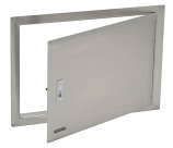 Bull Outdoor Stainless Steel Access Door with Lock and Frame