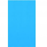 "Swimline LI121820 Solid Blue 12'x18' Oval Overlap 48/52"" Pool Liner"