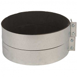"""Continental Fan Mounting Clamps for Rigid 12"""" Duct (2pc)"""