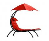 Vivere DRMLG-CR The Original Dream Lounger - Cherry Red