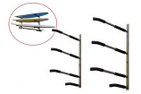 3 Sup/Surf Rack with paddle holders