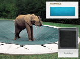InGround Mesh Black Safety Cover for 12' x 24' Rectangular Pool