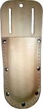 Leather Pruner Sheath w- Belt Loop & Metal Clip