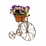 Metal Fancy Bike Planter By DEER PARK IRONWORKS