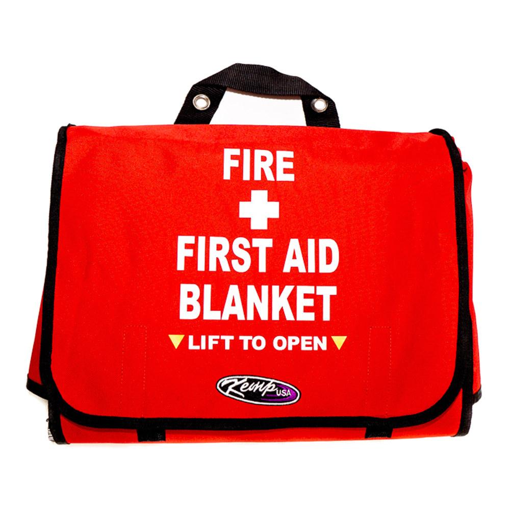 Kemp USA First Aid Blanket Bag