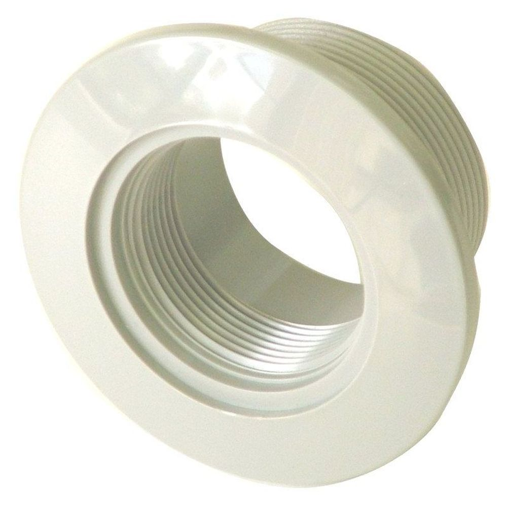 Afras 10054AW ABS Vacuum  Fitting For Concrete Pools - White