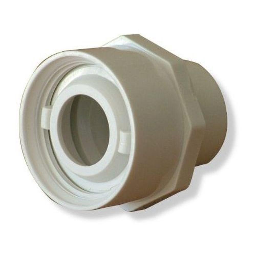 """Afras 10070EW Slip Jet Return Flush 1"""" Opening - White"""