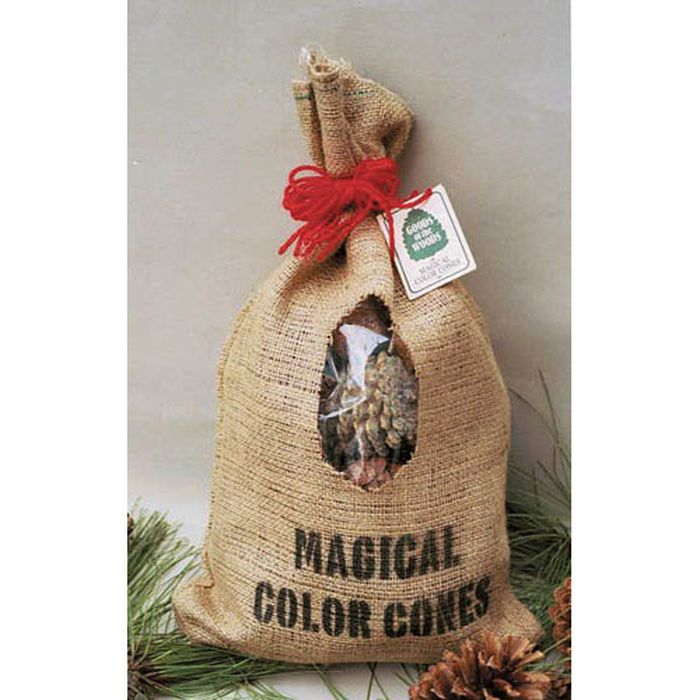 Color Cones in Burlap Bag - 2 Lbs.