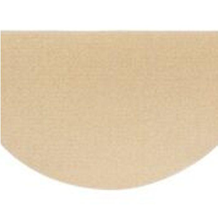 "Ember Wool Half Round Rug in Sandstone - 36"" x 72"""