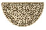 Oriental II 10493 Regal Gold Half Round Rug