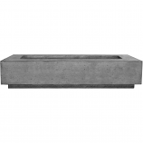 Prism Hardscapes Tavola 6 Fire Table in Pewter - NG