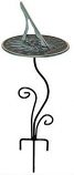 Rome Flowerbed Pedestal Base - Wrought Iron with Black Powdercoat