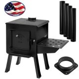 """BLACKBEAR"" Portable Camp/Cook Wood Stove Kit"