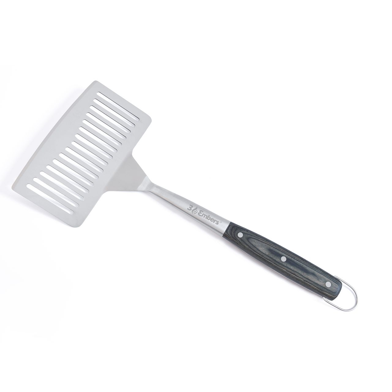 3 Embers Stainless-Steel Large Head Spatula