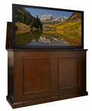 """Grand Elevate Any room Lift Cabinet for 60"""" Flat Screen TV - Espresso"""
