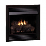 Empire Vail VF NG Premium 32,000 BTU Fireplace with LS24RS Log Set