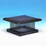 "HomeSaver Pro 17"" x 21"" Galvanized Single-Flue Chimney Cap 5/8"" Mesh"