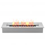 Regal Flame EBP4018 Pro 18in Bio Ethanol Fireplace Burner Insert - 2.6 Liter