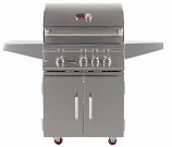 Bonfire 3 Double Door Freestanding Grill- Natural Gas